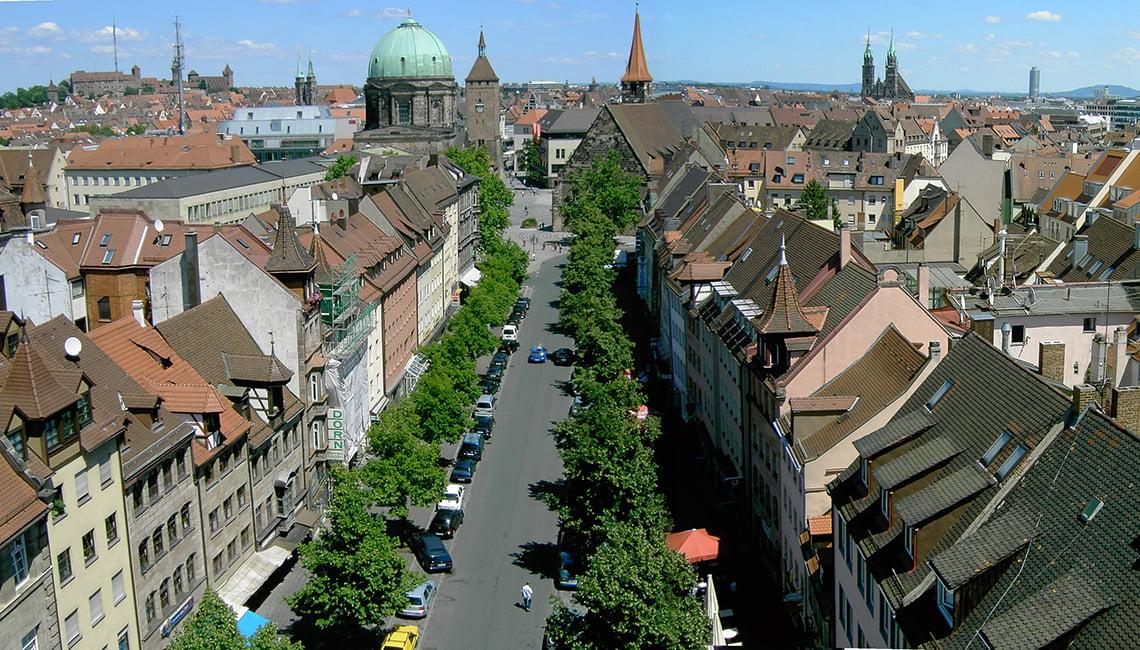 Nürnberg Şehir Manzarası