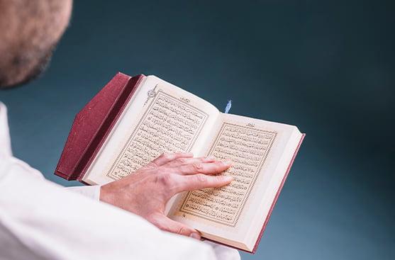 kuran okuyan müslüman
